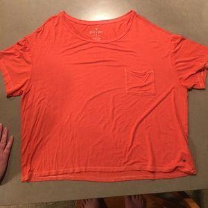 Orange Short Sleeve T shirt